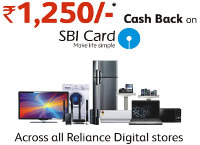 Relaince Digital presents Cash Back Offer