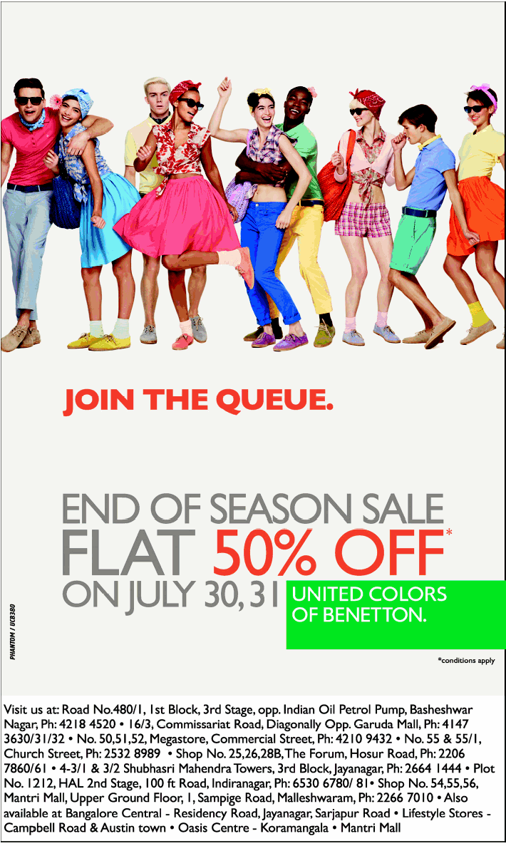 United colors of benetton exciting offers mumbai new for United colors of benetton usa