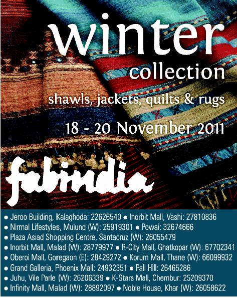 Fabindia Winter Collection Mumbai Delhi Bangalore