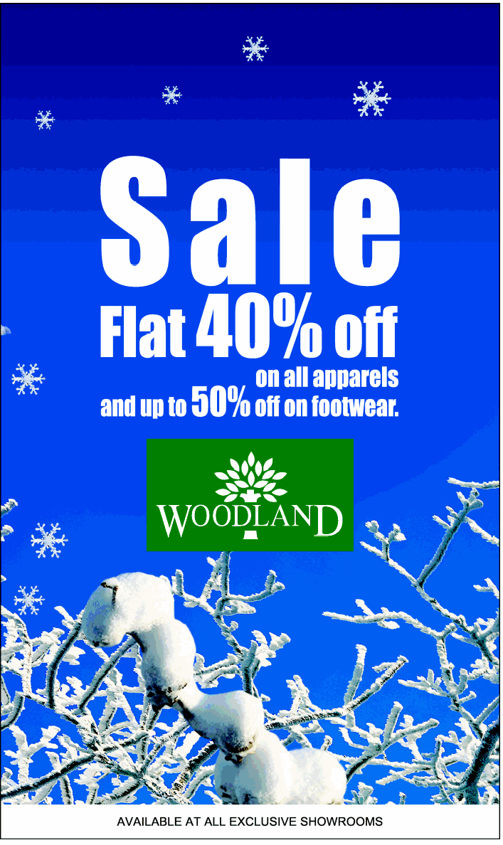 Woodland - Flat 40% off