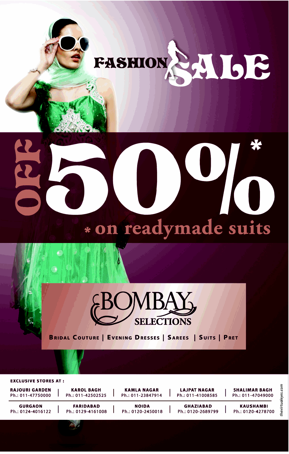Bombay Selections - Fashion SALE - 50% Off