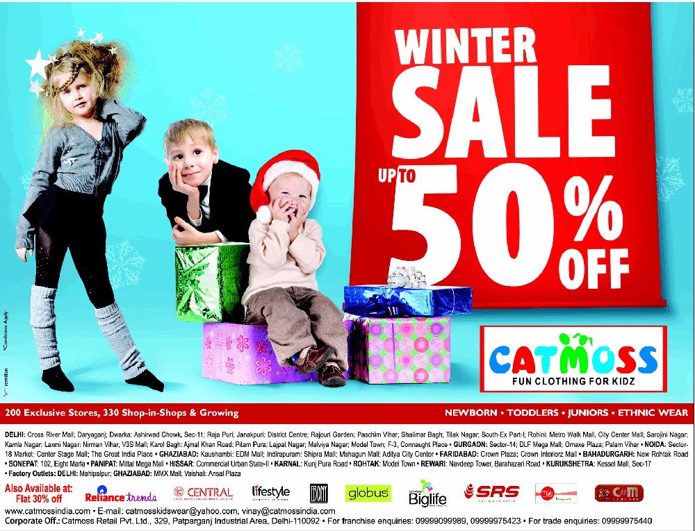 Catmoss - Winter Sale Upto 50% Off
