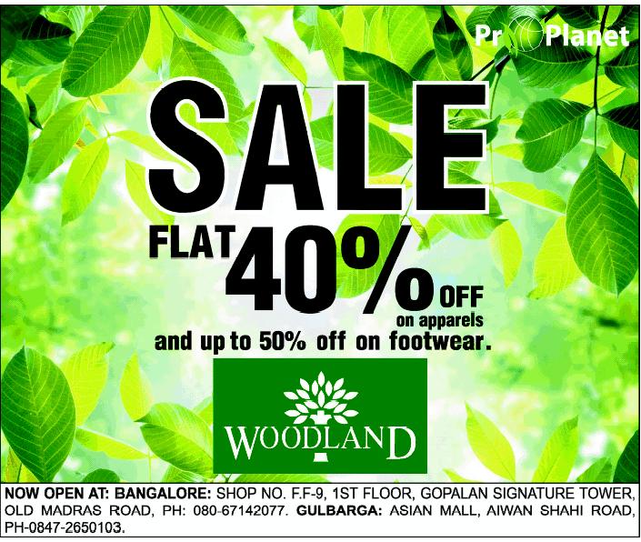 Woodland - Upto 50% off on Footwear