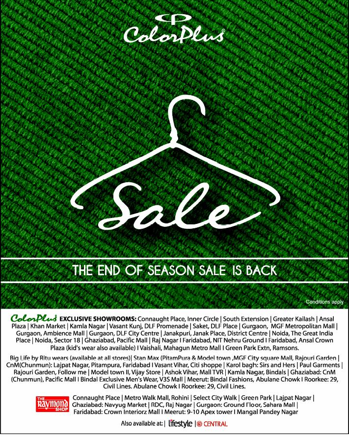 Color Plus - End of Season Sale
