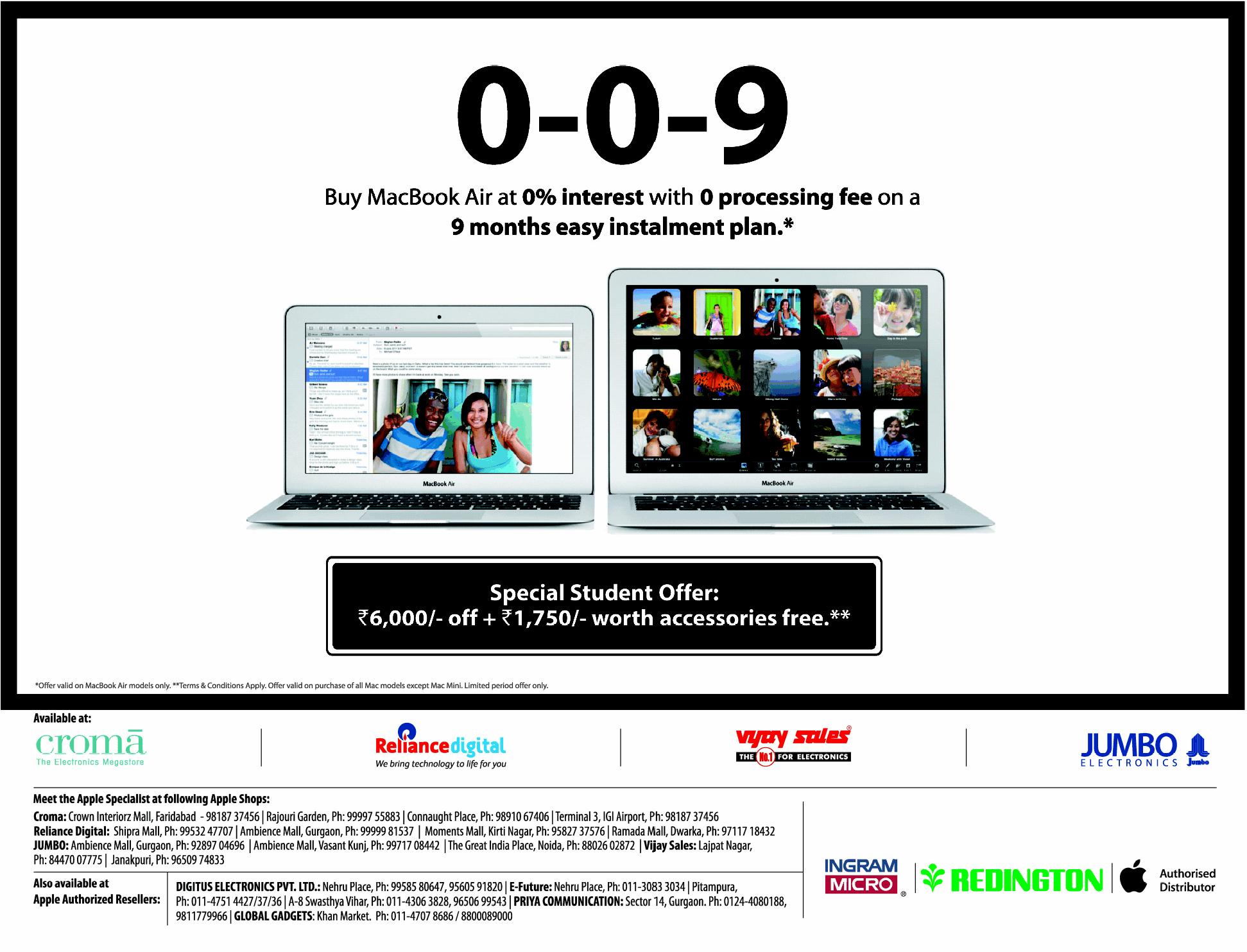 macbook special offer