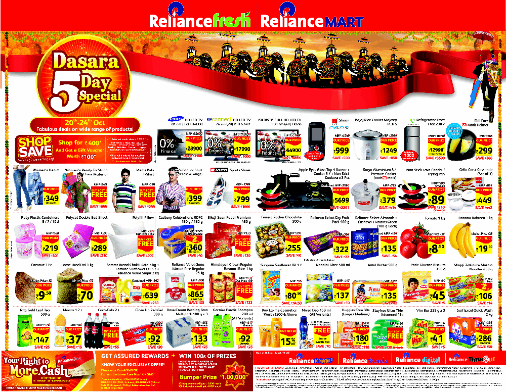 reliance fresh Reliance fresh type supermarket industry retail founded october 30, 2006[citation needed] headquarters mumbai, india key people mukesh ambani website wwwrilcom reliance fresh is the convenience store format which forms part of the retail business of reliance industries of india which is headed.