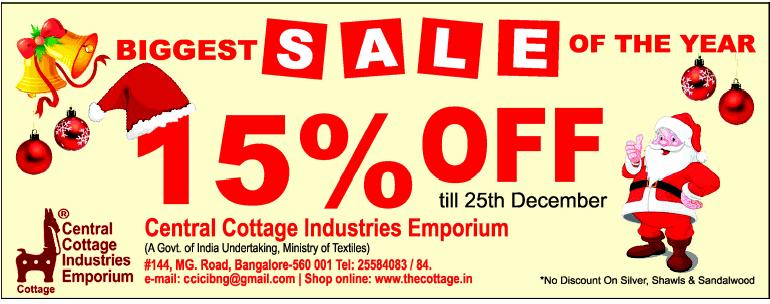 Central Cottage Industries Emporium Biggest Sale