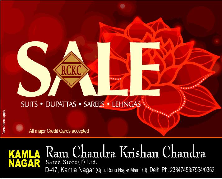 Ram Chandra Krishan Chandra Sarees - Sale