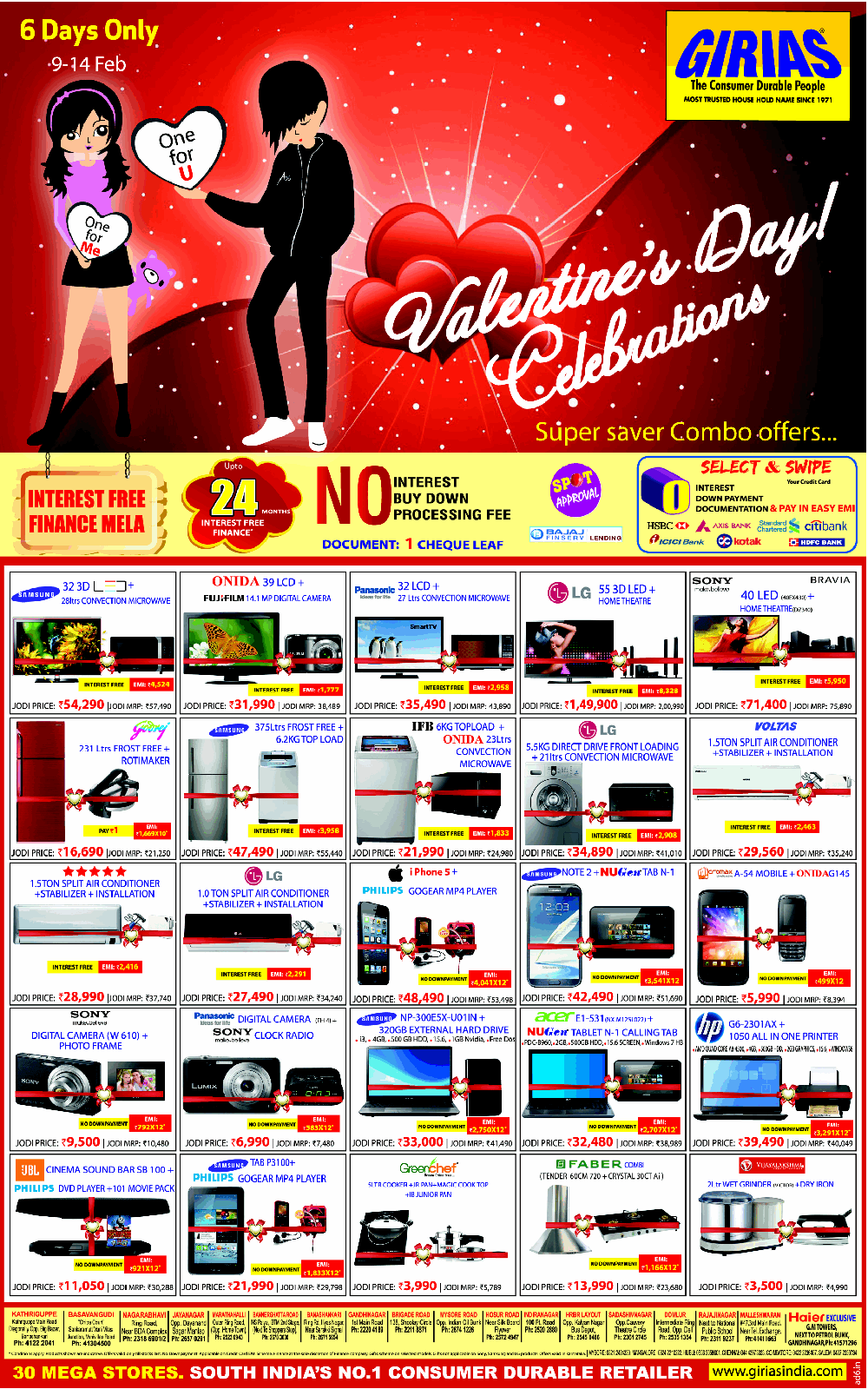 Girias - Valentine Day Celebrations