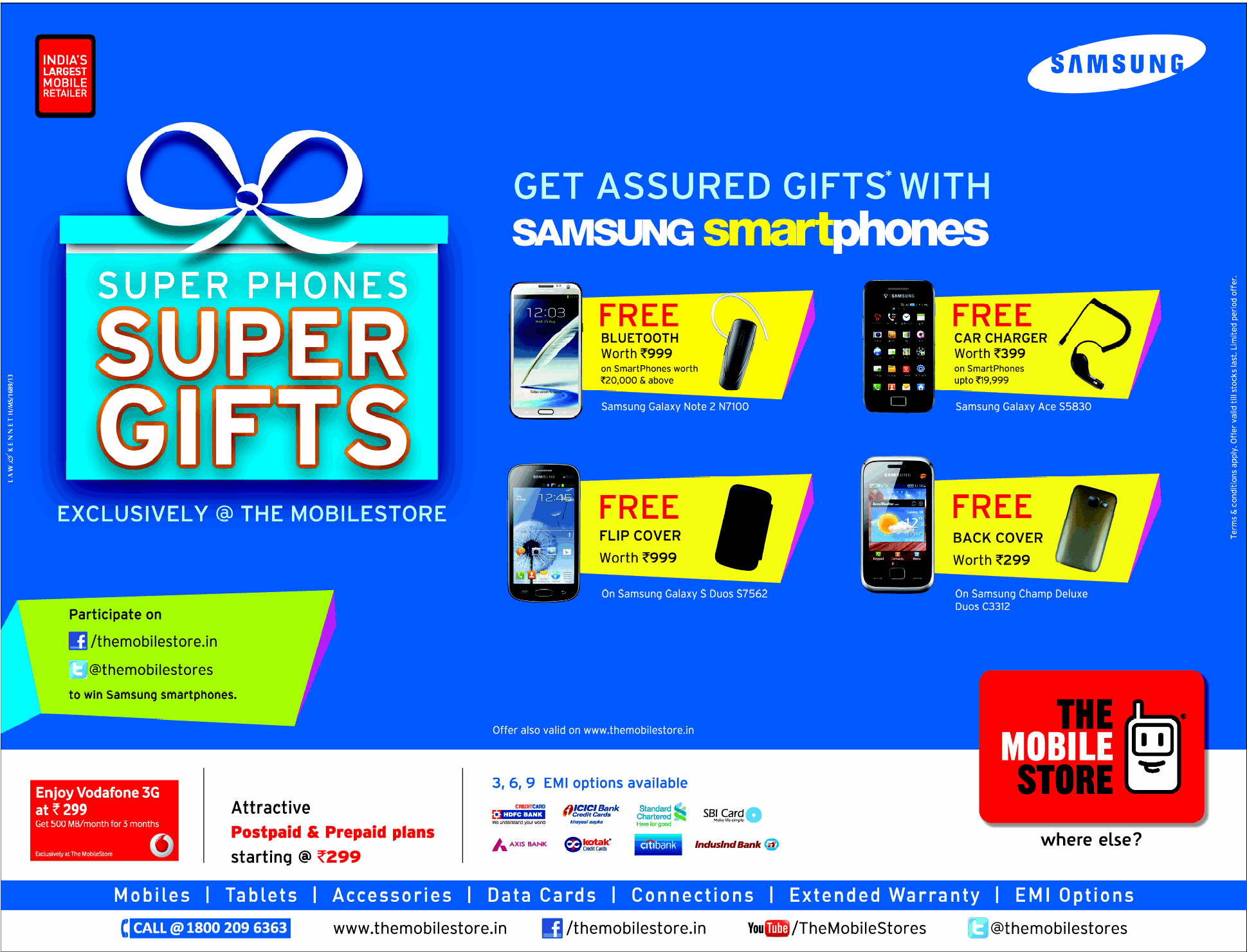 Buy latest mobile phones and accessories online at the best price in India with the different mode of payment options. *Home Delivery *Assured Gifts *2-Hour Delivery.