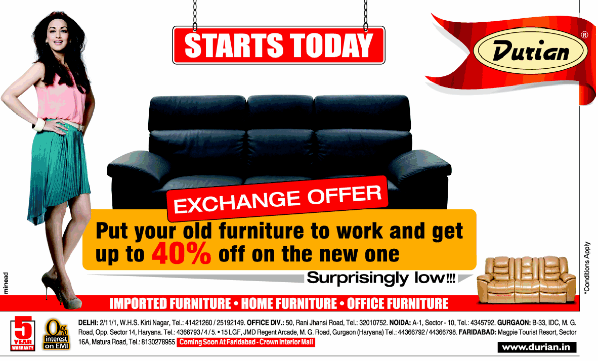 Durian Furniture - Exchange Offer