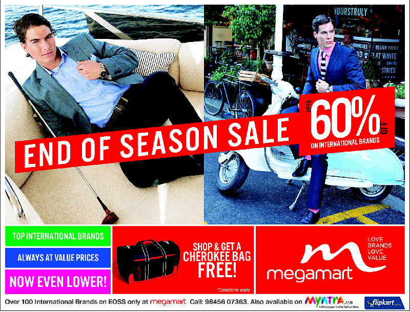 MegaMart - Upto 60% Off