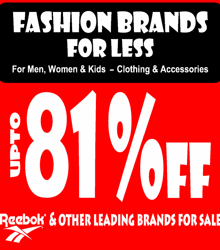 Fashion Brands for Less - Upto 81% off
