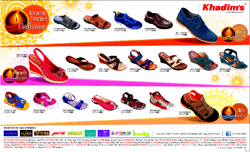 Khadim's Footwear - Autumn Festival Collection
