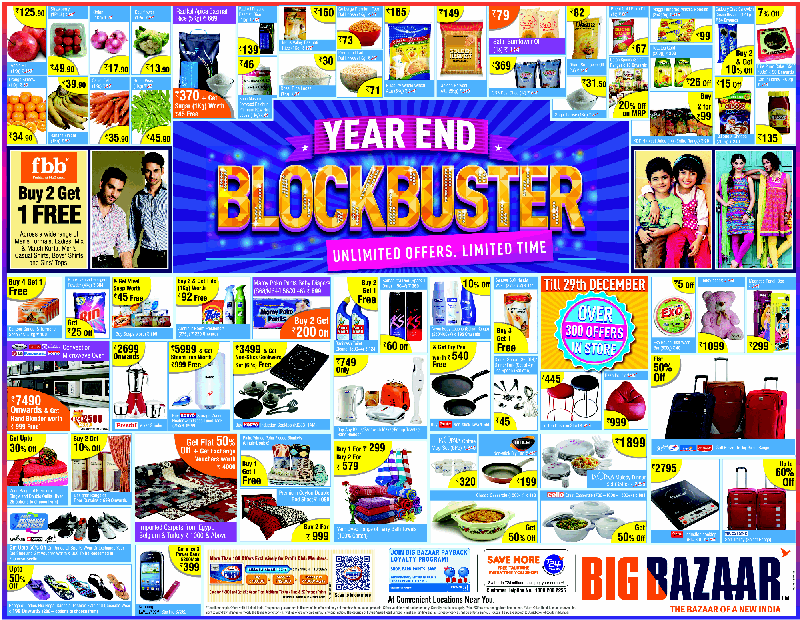 Big Bazaar - Year End Block Buster