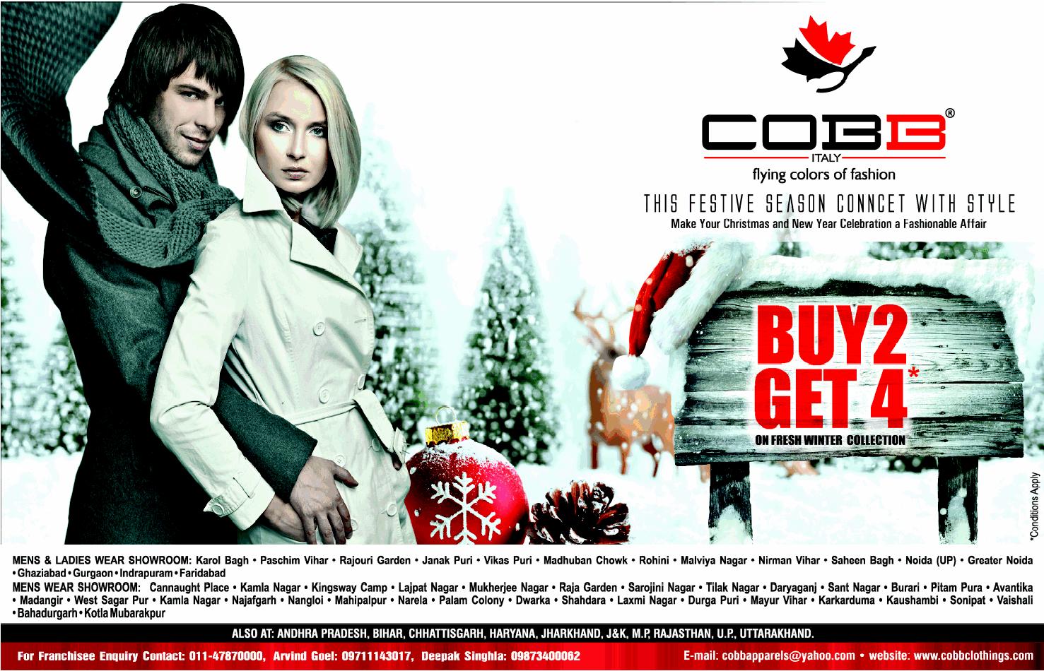 Cobb Italy - BUY 2 Get 4