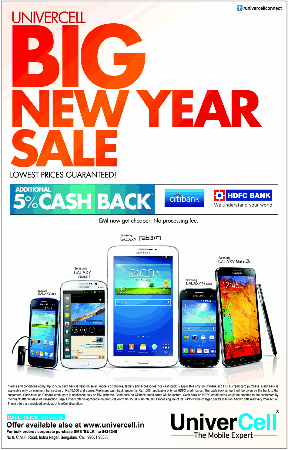 UniverCell - Big New Year Sale