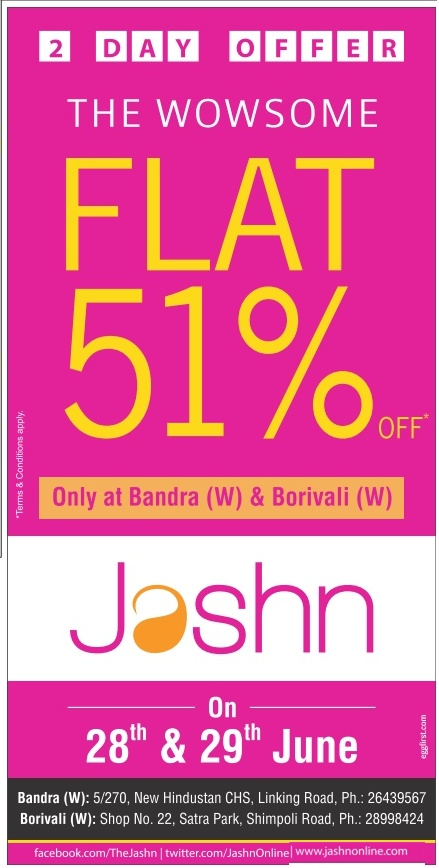 Jashn - Sale - 51% Off
