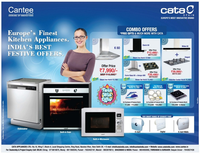 Cata Spain  - Offers on Chimneys & Gas Stoves