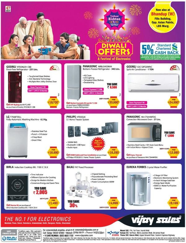Vijay Sales - Diwali Offers