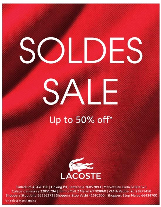 6ca678e6fd5 Lacoste - Sale   Mumbai