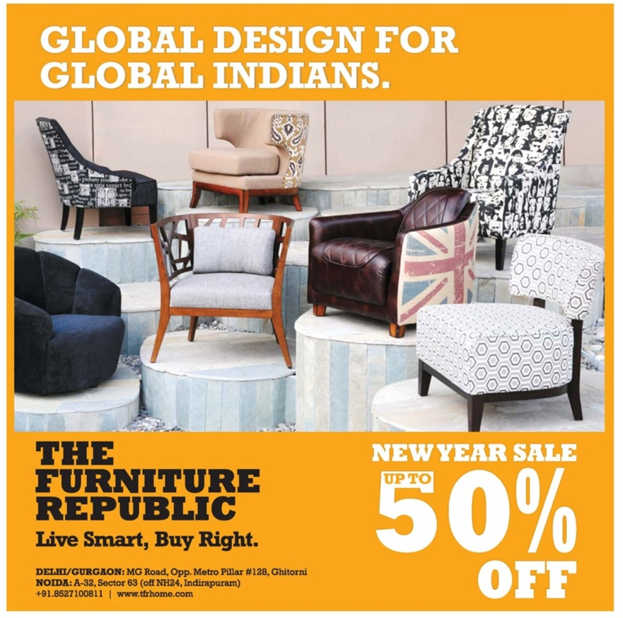 The furniture republic sale new delhi saleraja for Furniture republic
