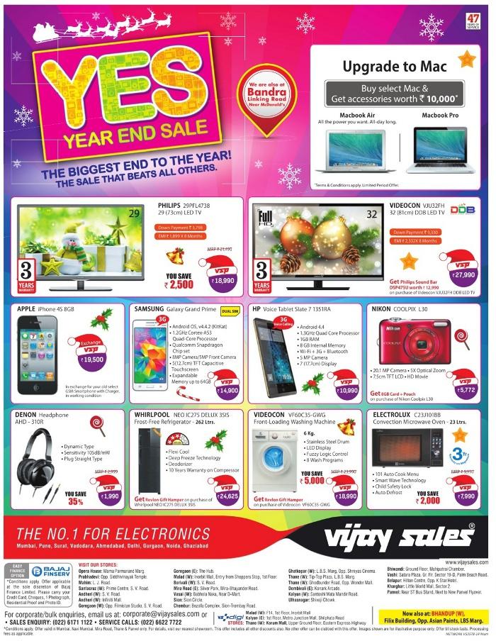 Vijay Sales - Year End Sale