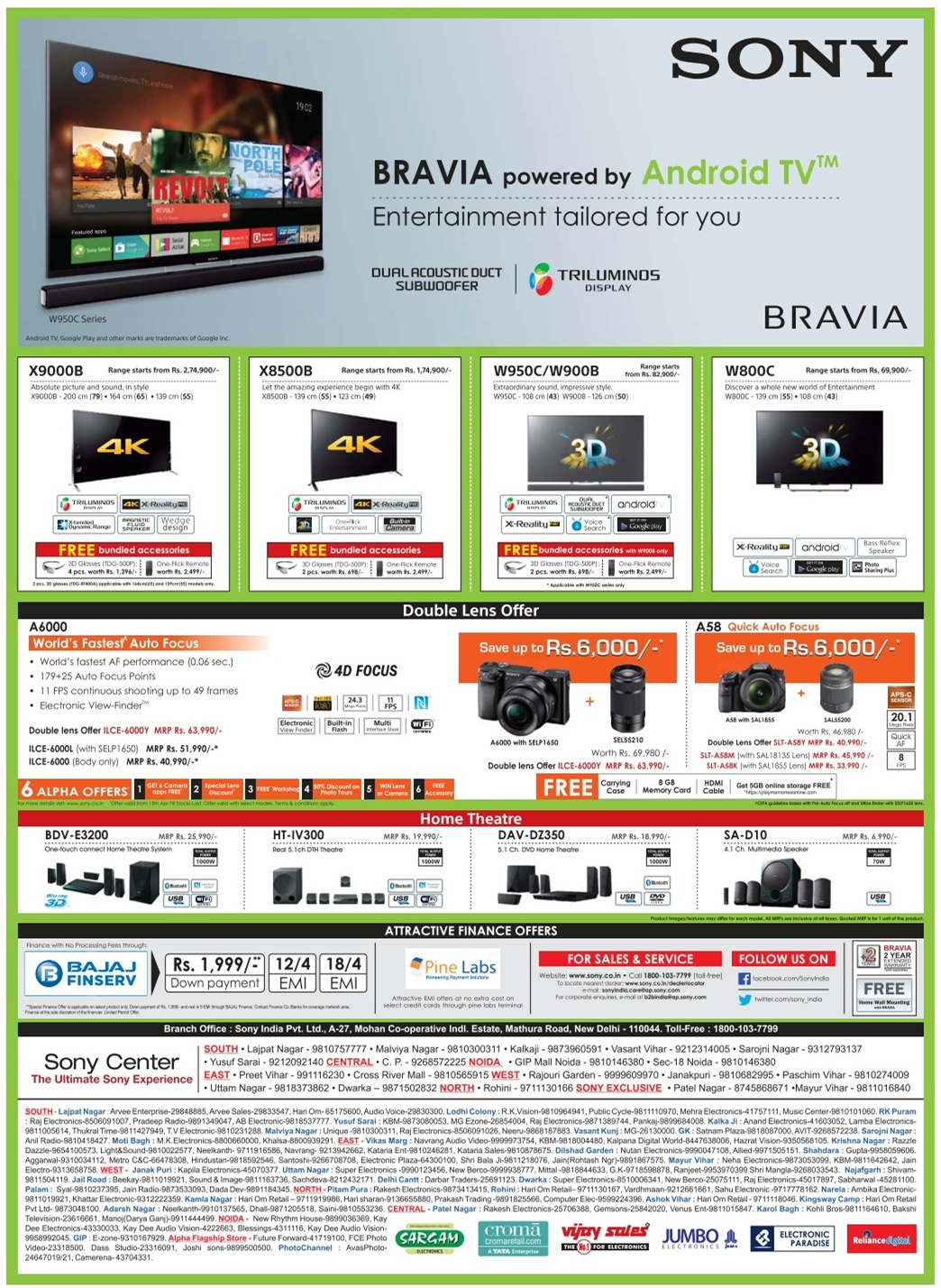 Latest Online Offers & Deals To Buy TVs Online in India If you wish to buy a television you can purchase them online instead of exploring the stores here and there. Online shopping helps you get the best discounts on televisions coming from top brands such as Samsung, LG, Sony.