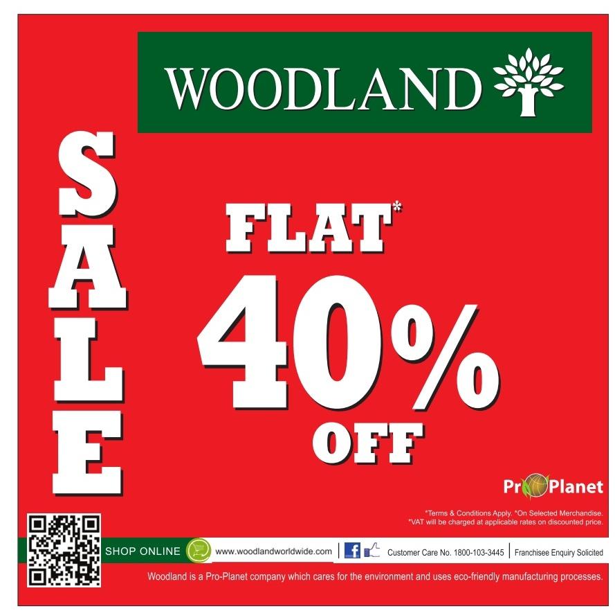 Woodland - Flat 40% off