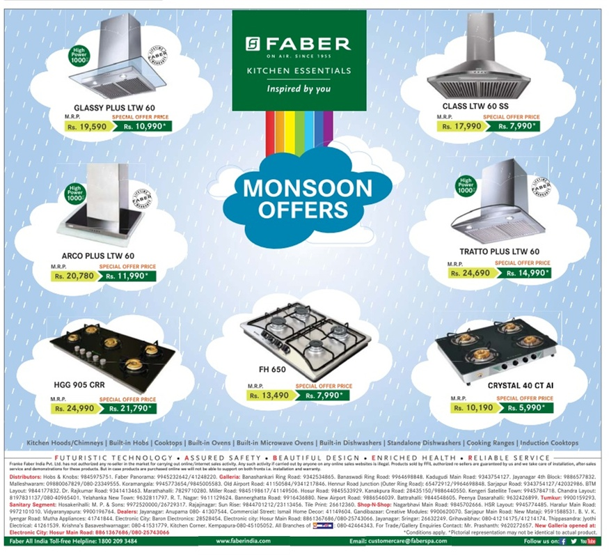 Faber - Monsoon Offers