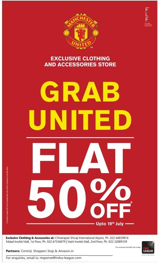 Manchester United Clothing Sale Mumbai Saleraja