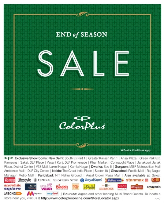 Color Plus - End of Season Sale