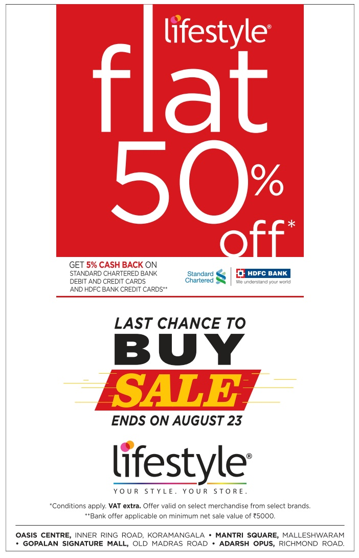 LifeStyle - Flat 50% Off
