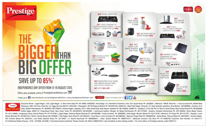 Prestige Kitchen Appliances - Super Saver Offer