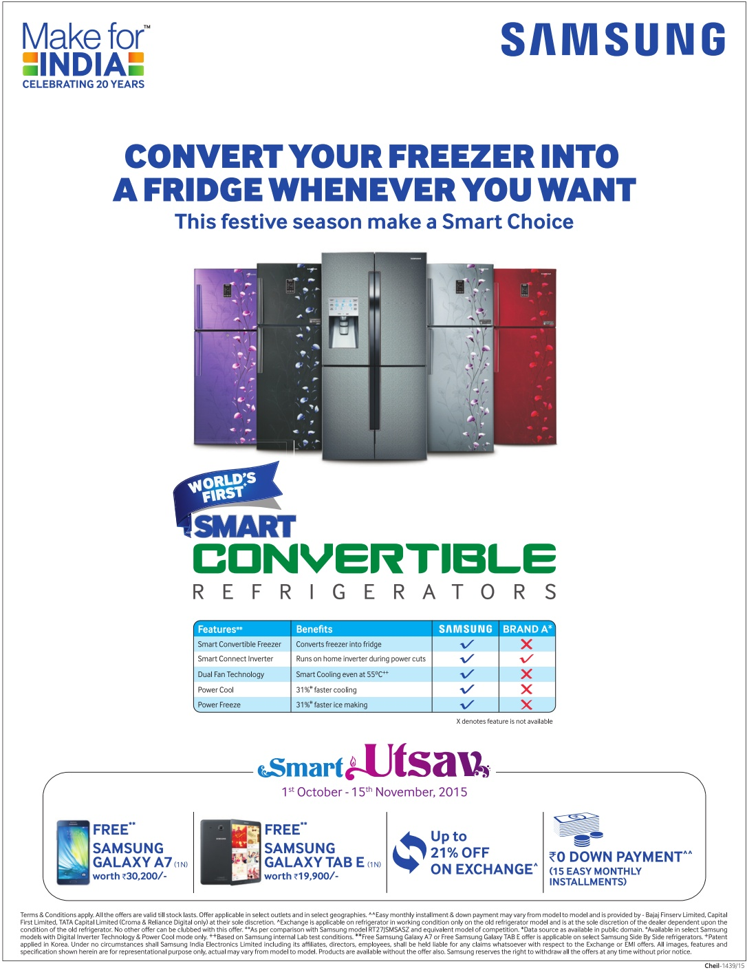 Samsung Smart Refrigerators - Exciting Offer