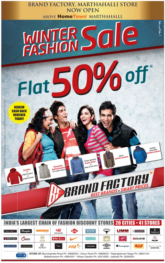 Brand Factory - Biggest Discount Sale