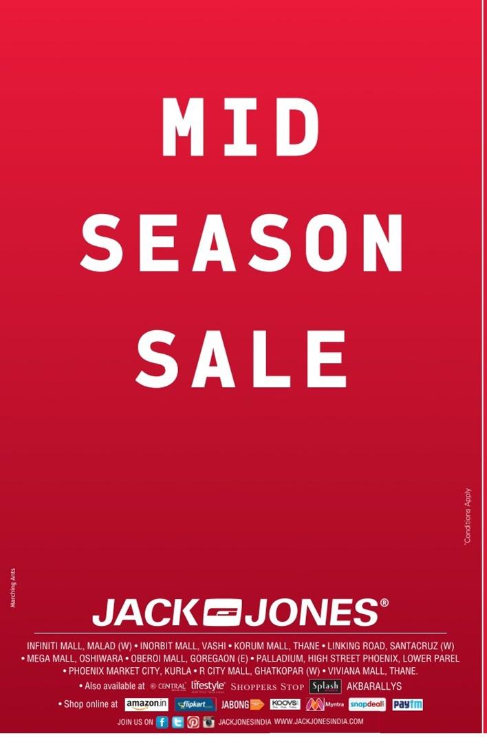 jack jones sale mumbai saleraja. Black Bedroom Furniture Sets. Home Design Ideas