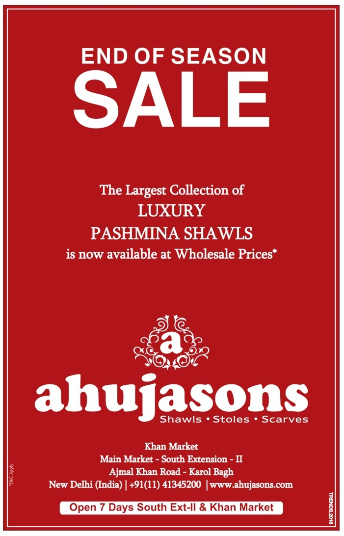 AhujaSons - SALE