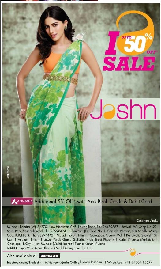 Jashn - Sale - Upto 50% Off