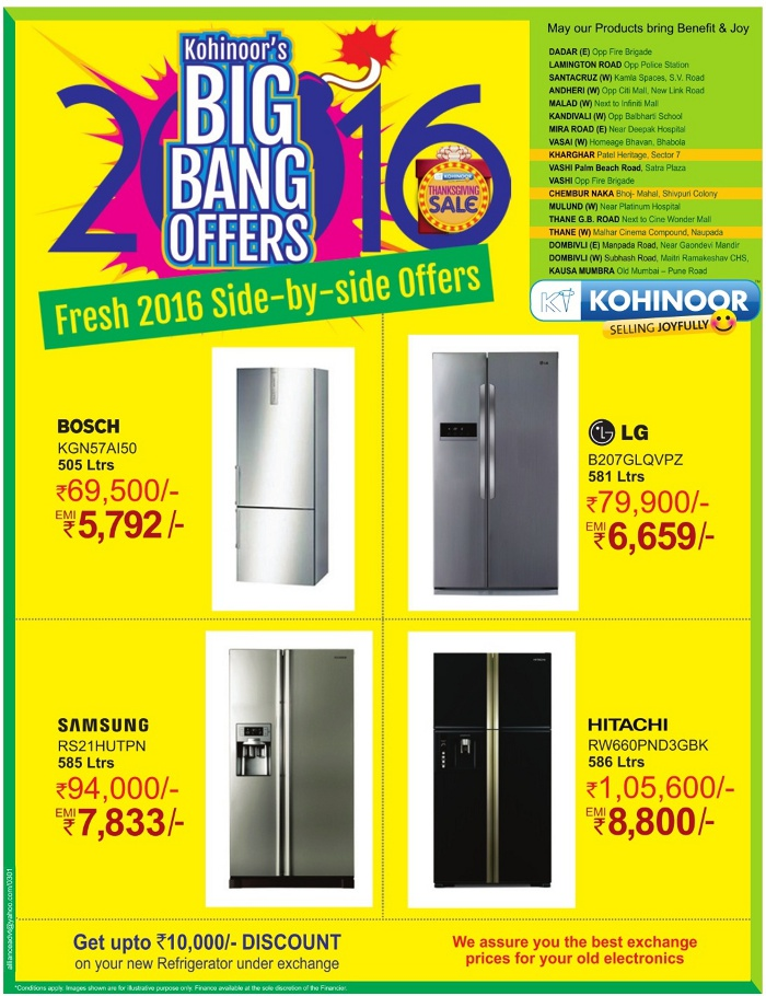 Deals On Refrigerators In Bangalore Bed Bath And Beyond