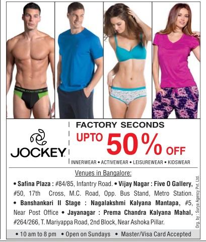 Jockey - Upto 50% off