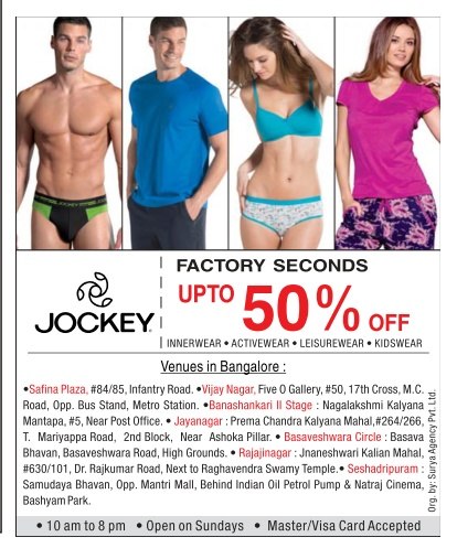 Jockey - Upto 50% off