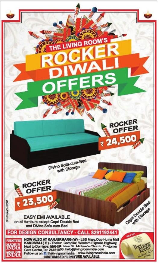 Living Room Furniture Mahim >> The Living Room - Sale / Mumbai | SaleRaja
