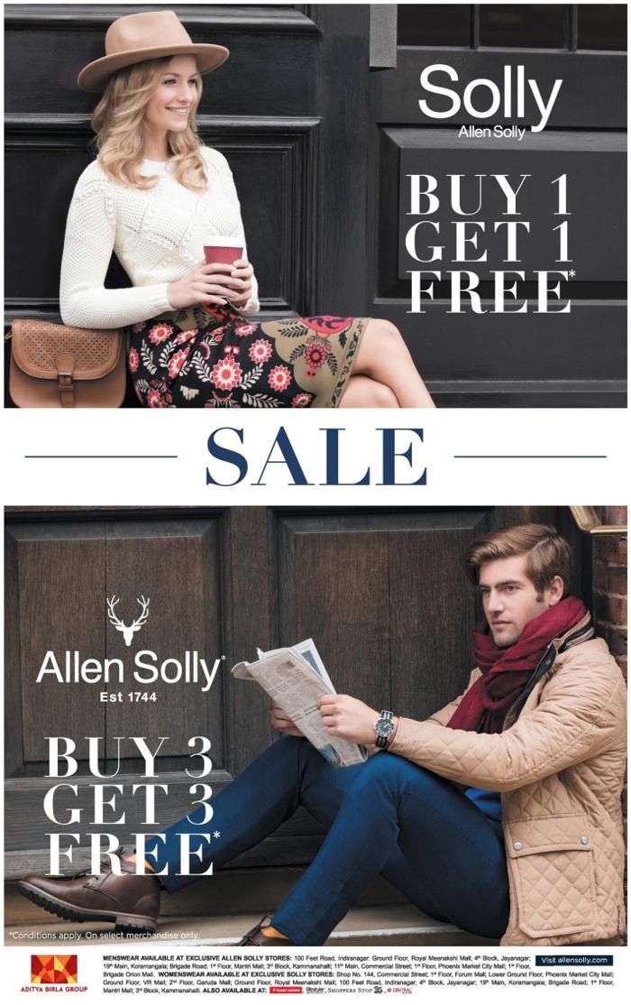 Allen Solly - Sale