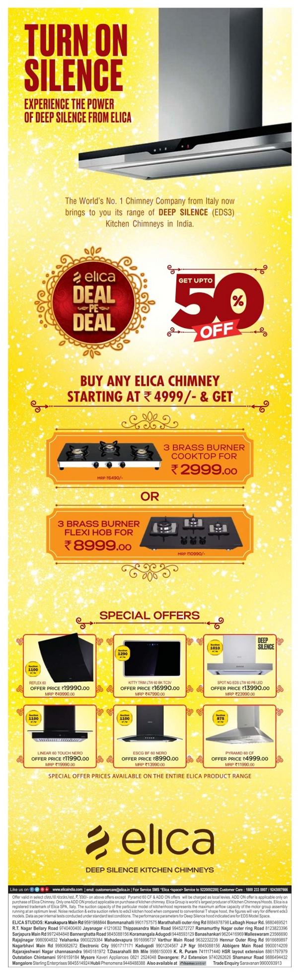 Elica - Big Sale