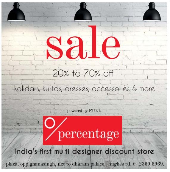 Percentage - Sale