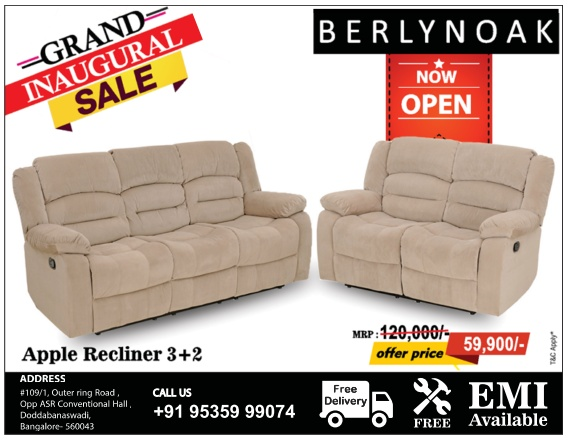 BERLYNOAK Furniture - Sale
