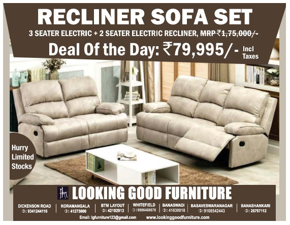 Looking Good Furniture - Sale