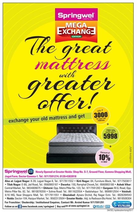 Springwel Mattress  - Festive Offer