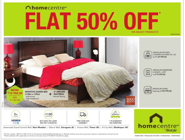 Home Centre by Lifestyle - Sale